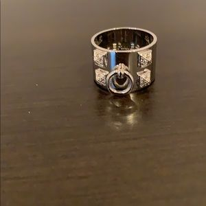 Jewelry - CDC silver ring with pave cz stones
